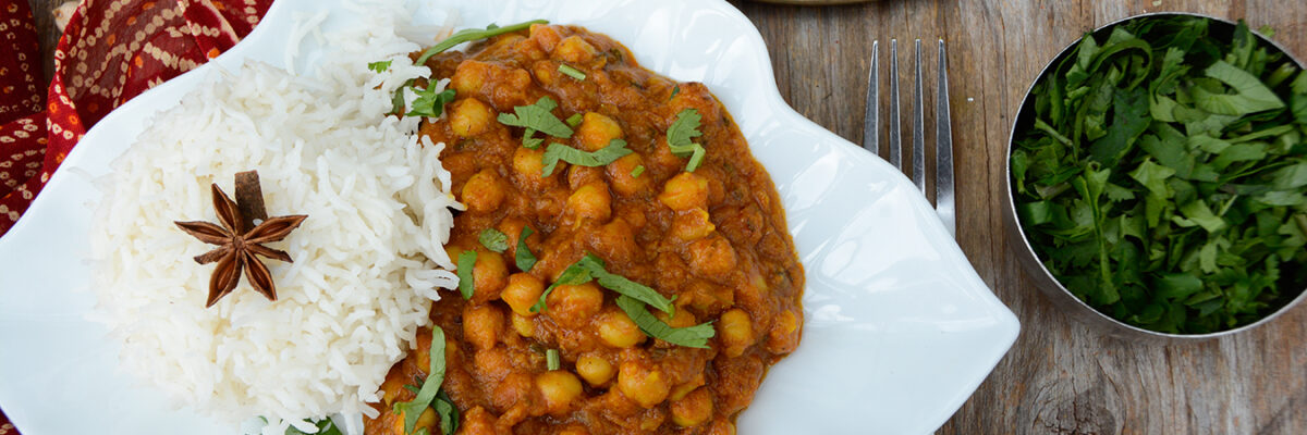 Tiffinday Chickpea & Tomato Curry Stew